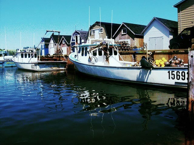 """One of the many fishing villages in PEI"""