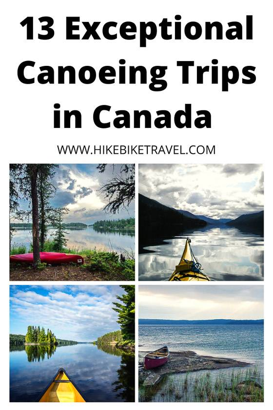 13 exceptional canoeing trips in Canada
