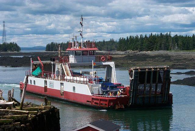 """""""Deer Island ferry from L'Etete"""""""