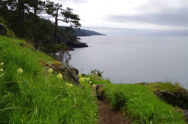 """""""Coastal views at the northern end of the trail"""""""