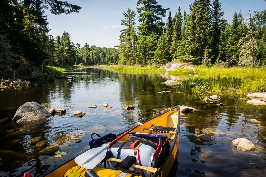 12 of the best canoe trips in Canada - includes Quetico Provincial Park