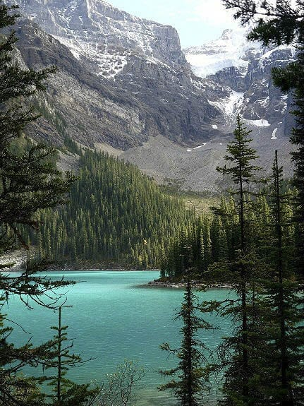 Rocky Mountains Moraine Lake 107 100 Places to Visit in Canada This Summer