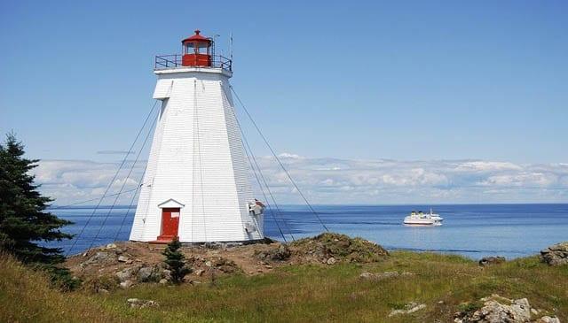 """Swallowtail Lighthouse on Grand Manan Island"""