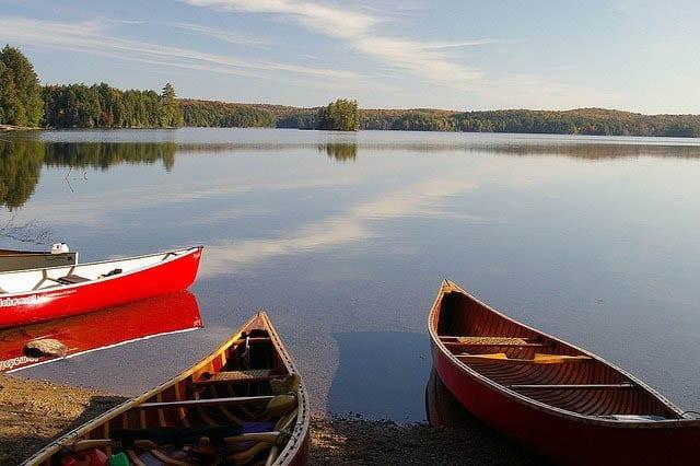 """""""Algonquin Park canoeing"""""""