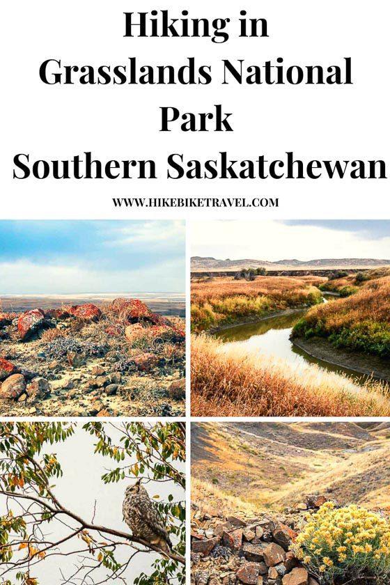 Hiking in Grasslands National Park, Saskatchewan