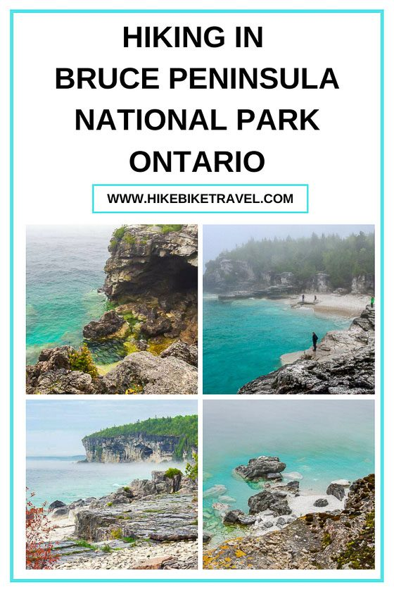 Hiking in Bruce Peninsula National Park