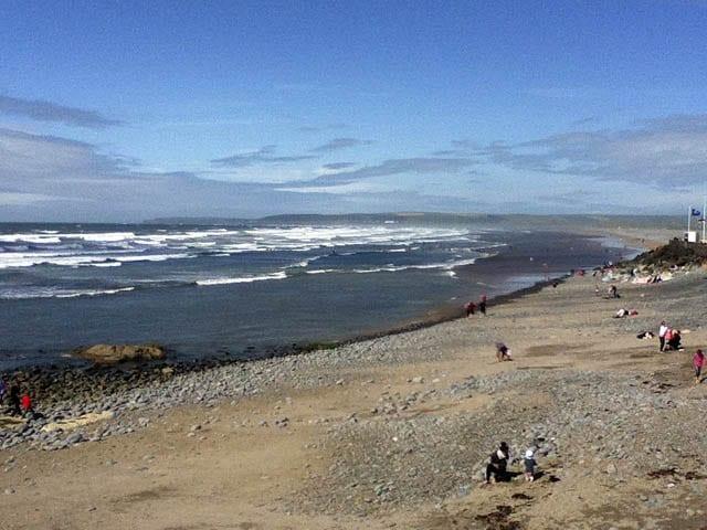 """Beaches off the southwest coast of England"""