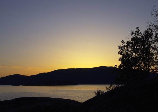 """""""Sunset over the Sunshine Coast"""""""