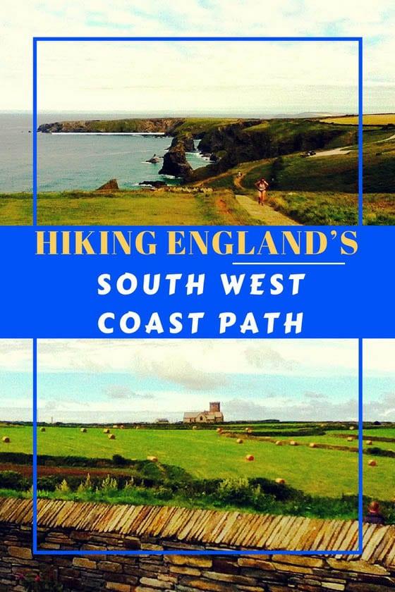 Hiking England's South West Coast Path