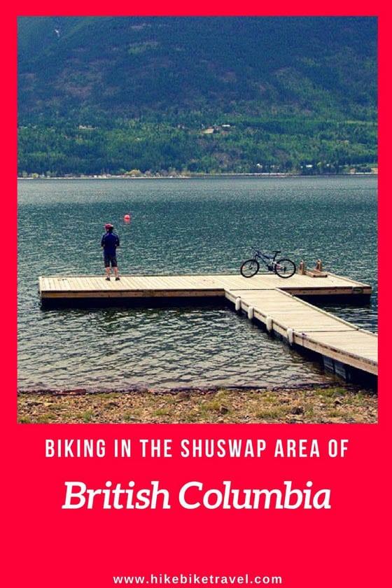 Biking in The Shuswap Area of British Columbia