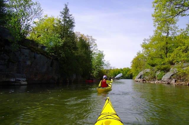 """Peaceful, easy kayaking"""