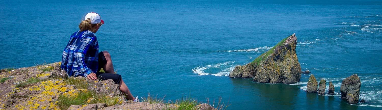 The hike to Cape Split in Nova Scotia