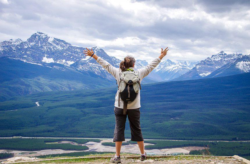 Banff Hikes: Castle Mountain Lookout