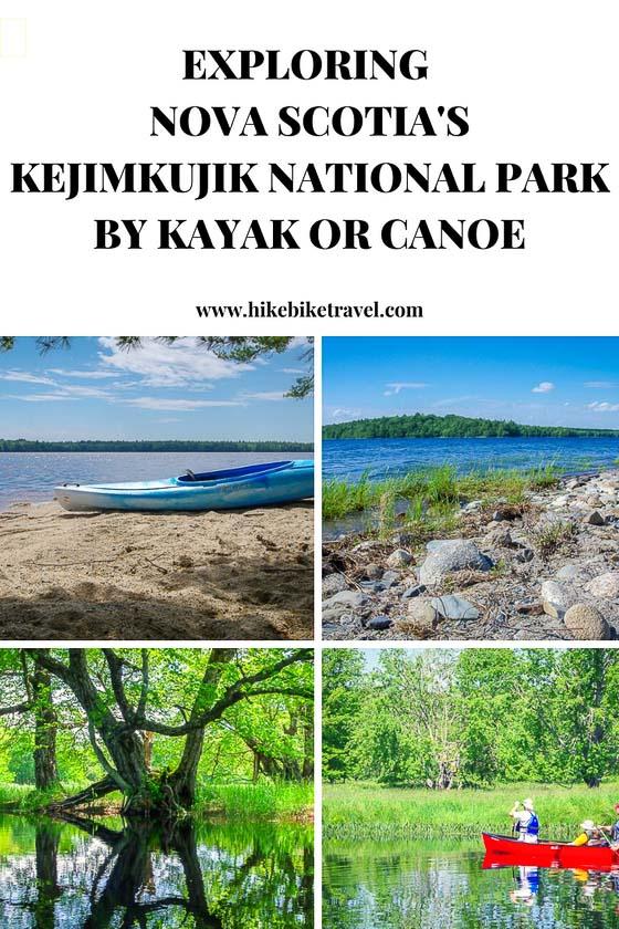 Exploring Nova Scotia's Kejimkujik National park by kayak or canoe