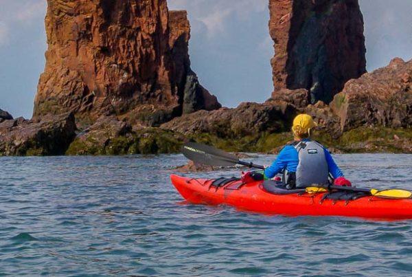 Bay of Fundy kayaking in Nova Scotia
