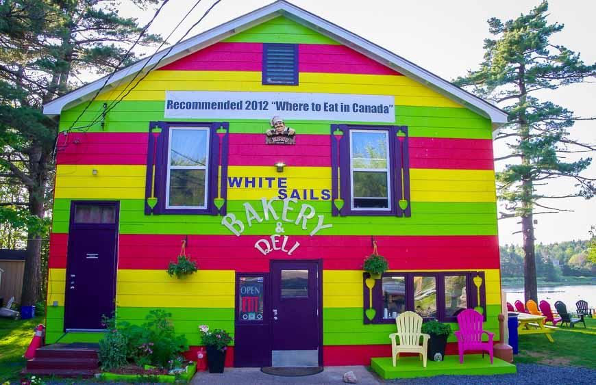Facts about Nova Scotia - lots of colour is not unusual in Nova Scotia