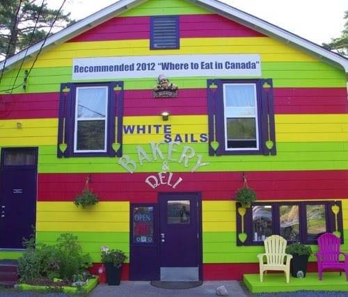 """A blast of colour is not unusual in Nova Scotia """