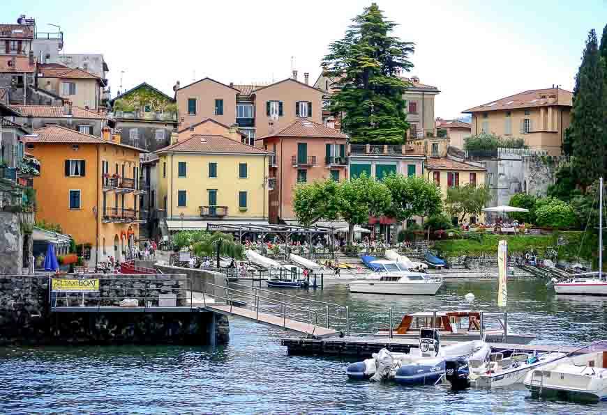 Varenna - another town on Lake Como