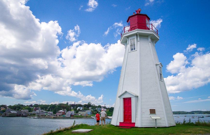 The Mulholland Lighthouse on Campobello Island