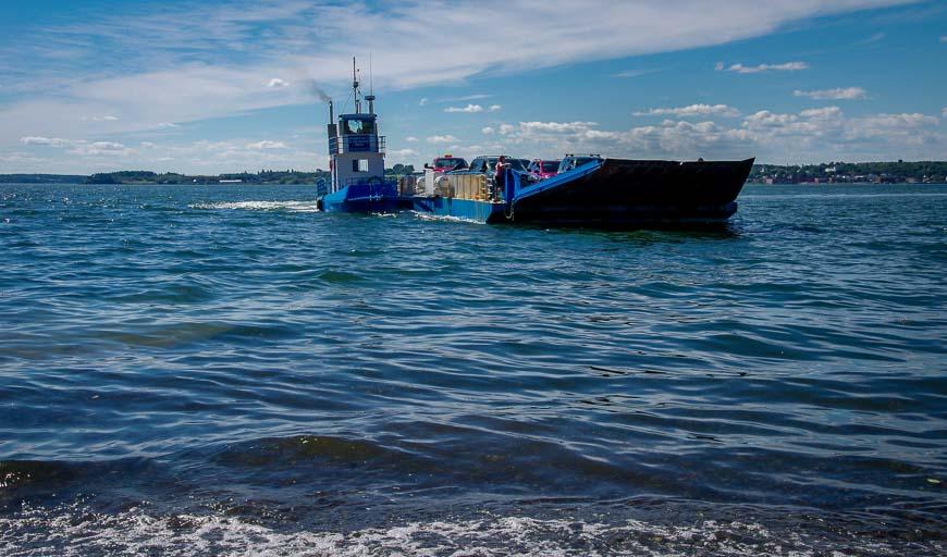The Deer Island - Campobello Island ferry