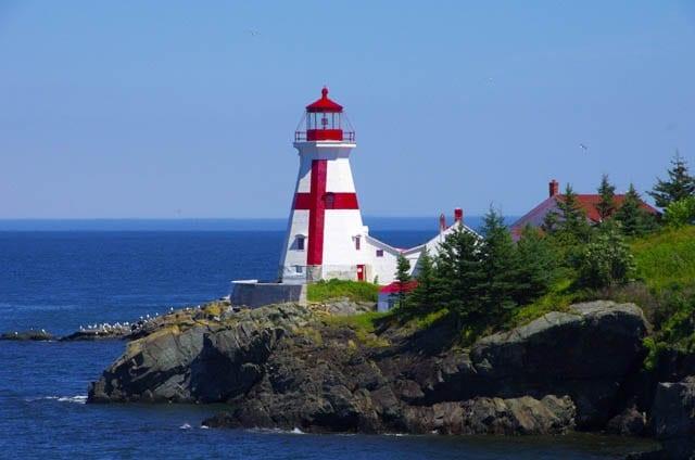 """Lighthouse on Campobello Island"""