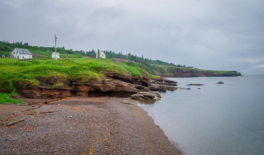 The former inhabitants of Bonaventure Island sure had a great shoreline to enjoy