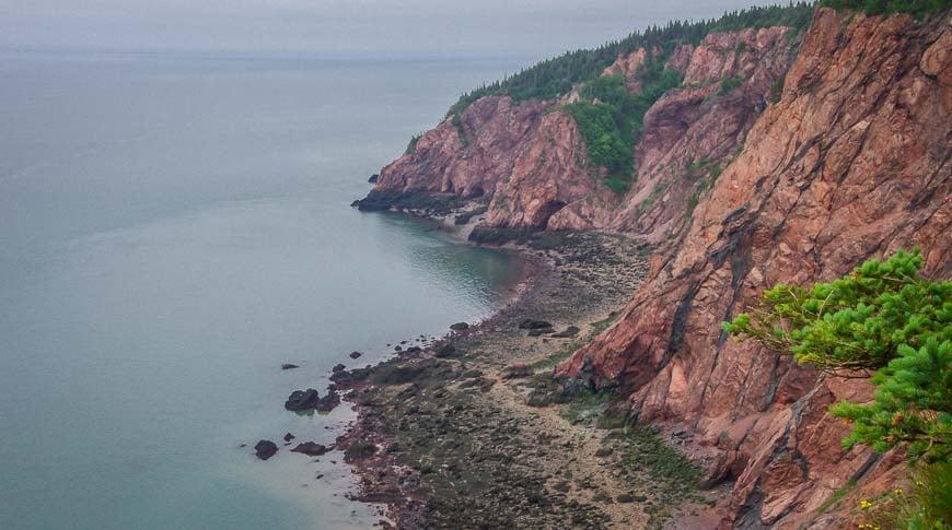 Phenomenal cliff top views on the Coastal Trail