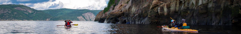 Kayaking Trip on the Saguenay Fjord