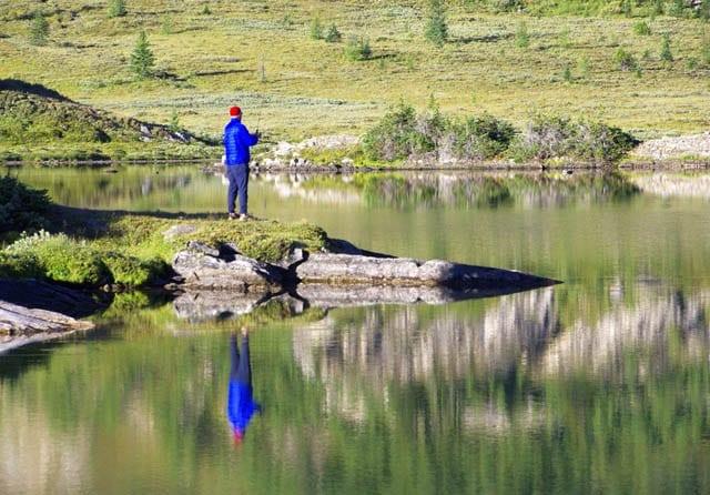 """""""fishing in Baker Lake"""""""