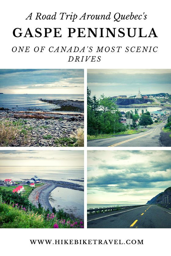 A road trip around the Gaspe Peninsula in Quebec