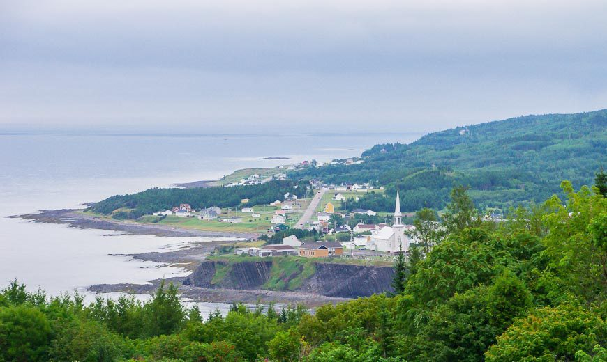 You're Never Far From The Sight Of A Church Steeple On The Gaspe Peninsula