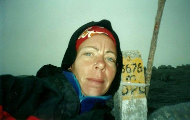 Mount Semeru trekking with Lash on the summit