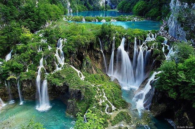 """""""Plitvice Waterfalls in Croatia"""""""