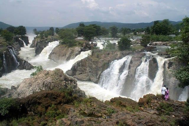 """Hogenakkal Falls in India"""