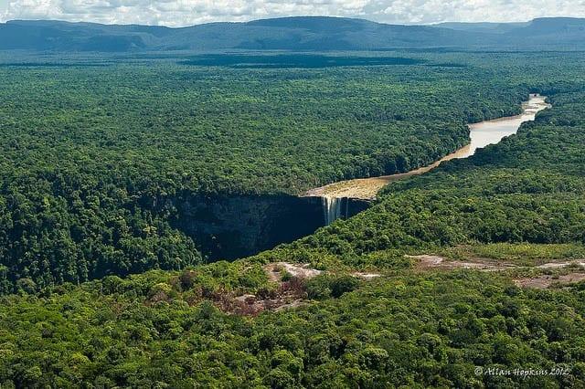"""""""Kaieteur Falls in Guyana"""""""