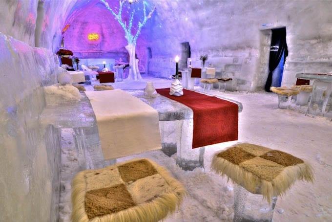 """""""Romania's Ice Hotel"""""""