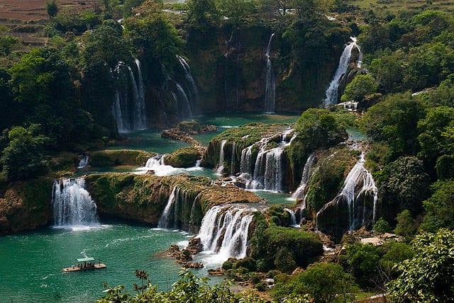 """""""Detian Falls in China"""""""
