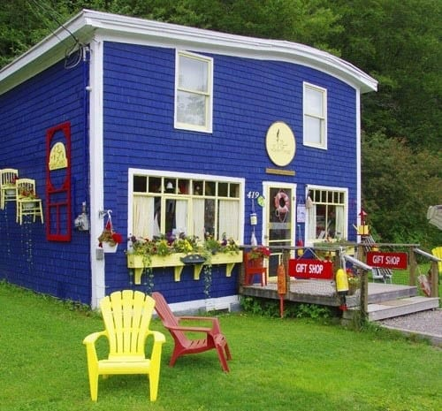 """Pretty little gift shop on the way to the Fundy Trail"""
