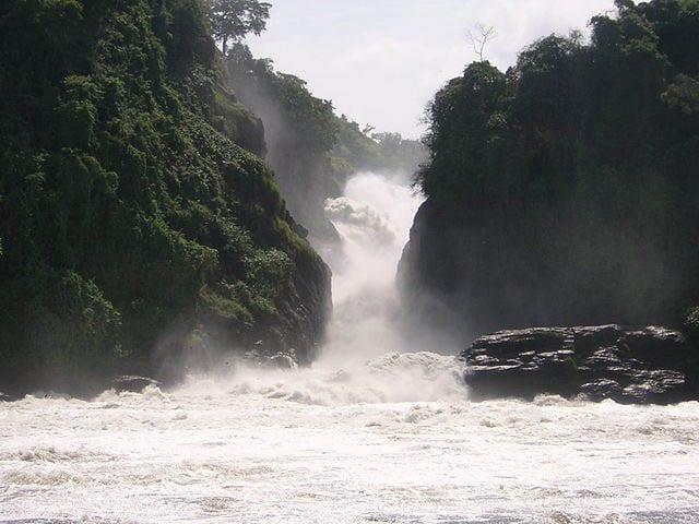 """""""Murchison Falls in Uganda"""""""