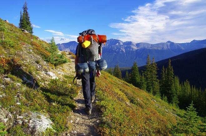 """""""Contouring on a trail around Tekarra Mountain"""""""