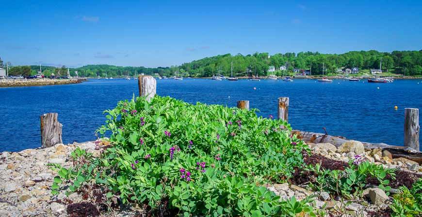 South shore Nova Scotia and beautiful Mahone Bay