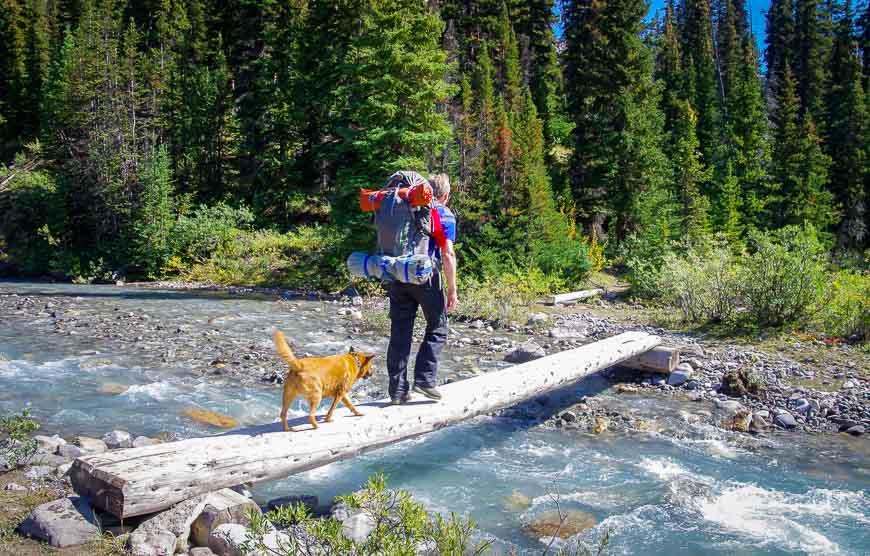Crossing Nigel Creek