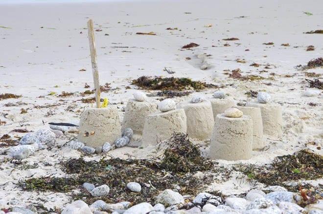 """sandcastles"""