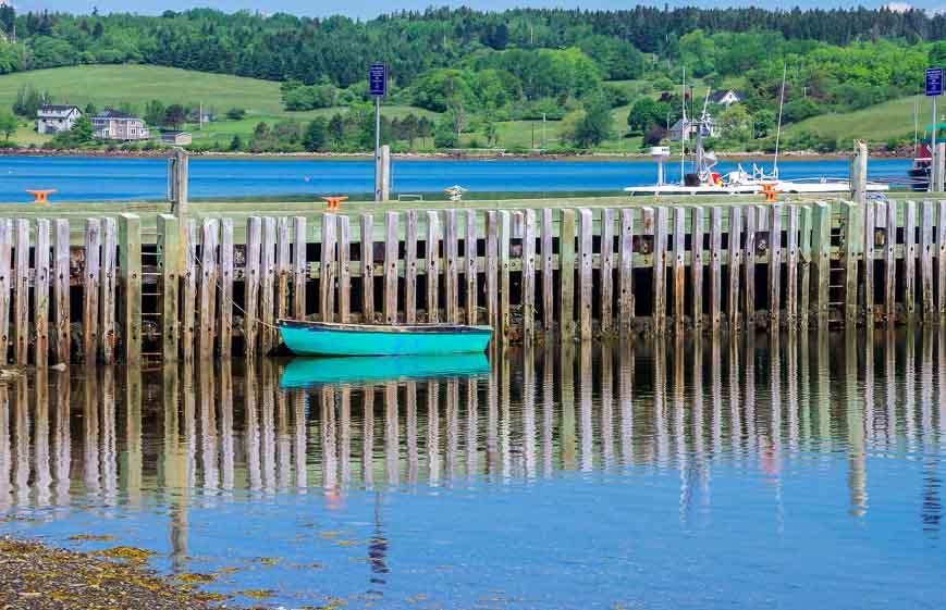 South shore Nova Scotia colourful scenes along the water