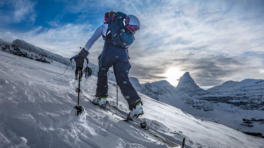 Skiing at Talus