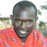 """A Masai warrior in Serengeti National Park"""