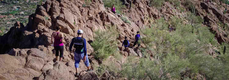 Camelback Mountain hike in Phoenix