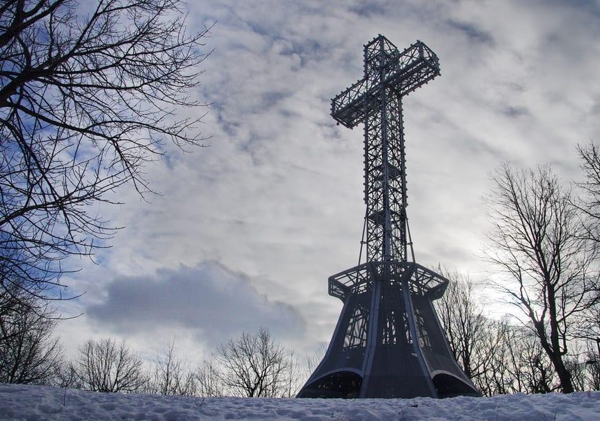 Croix du Mont Royal aka The cross of Mont Royal