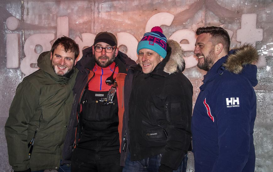 The four founders of Igloofest