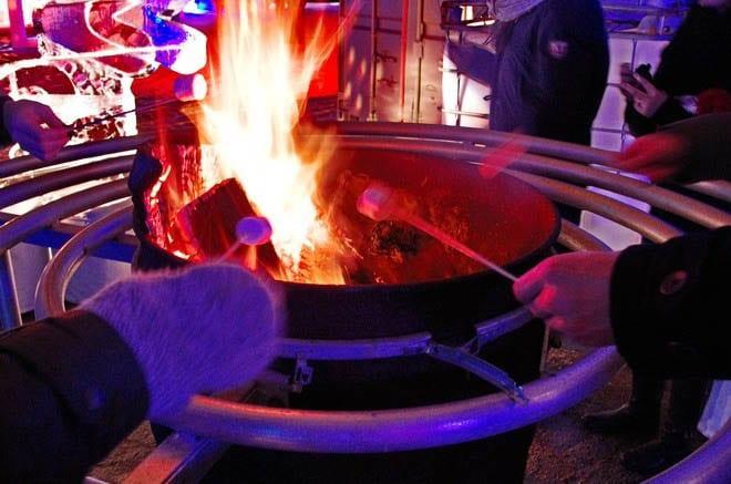 """Marshmallow roasting"""